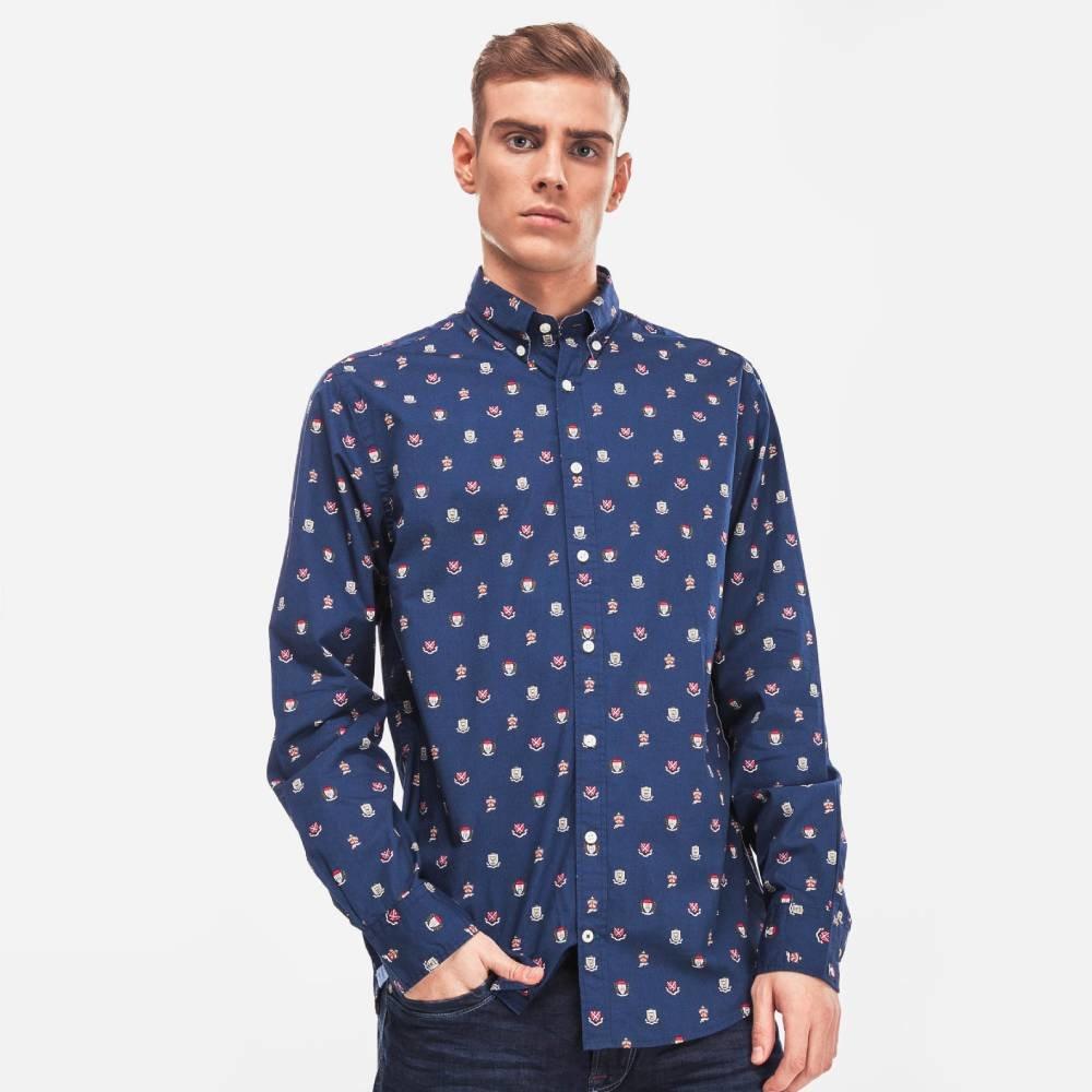5c81f96406 Tommy Hilfiger pánská modrá košile Crest. Nové Tommy ...