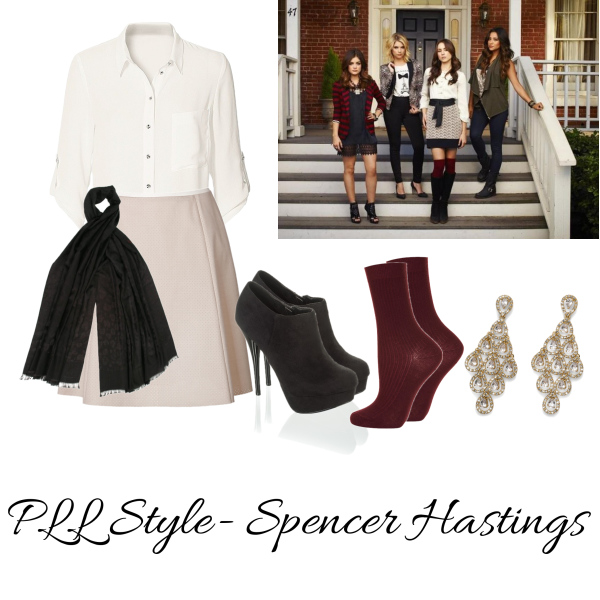 PLL Style- Spencer Hastings