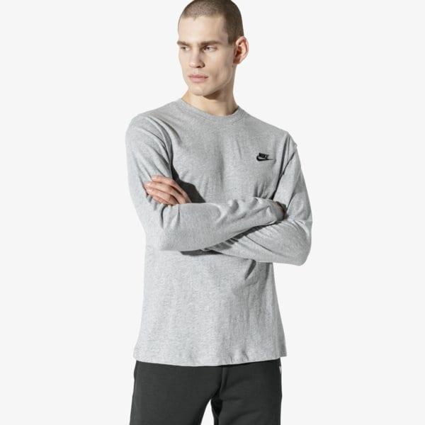 1d29a6363926 Nike Tričko Ls M Nsw Club Tee - Ls Muži Oblečenie Tričká Ar5193-063. Nové  Nike ...