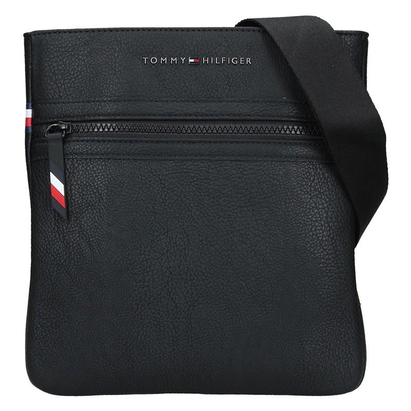 b810439ea9 Pánská taška přes rameno Tommy Hilfiger Vincent - černá - Glami.cz