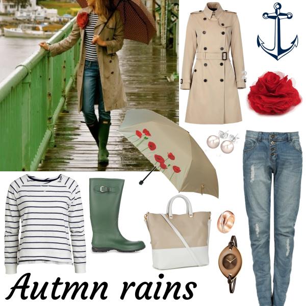 Podzimní deště...