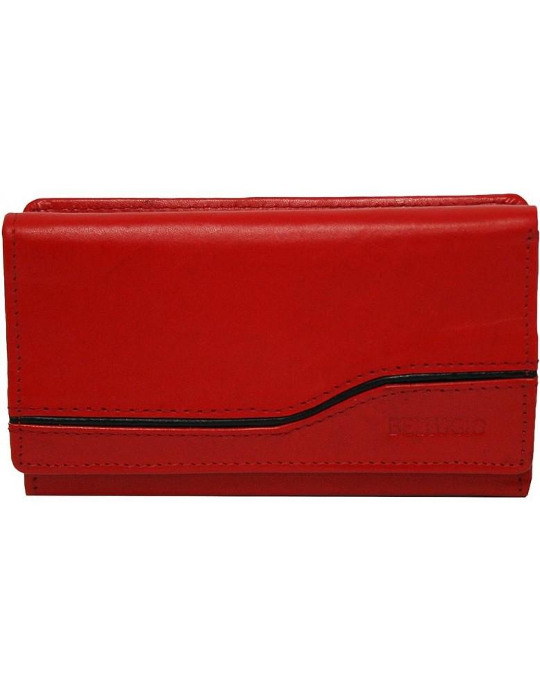 a651e8034f Dámska peňaženka s pásikom Bellugio - červená - Glami.sk