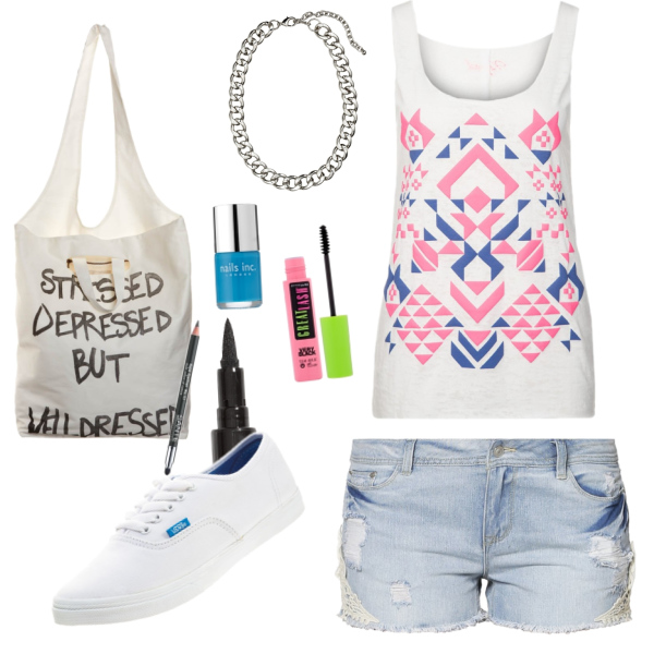 Sommer Shopping Outfit
