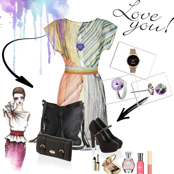 I love beautiful dress :)