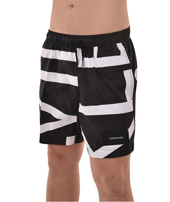 49c825ccc1 Calvin Klein Pánske kúpacie kraťasy Medium Drawstring KM0KM00274-000 Klein  Abstract Black. 1