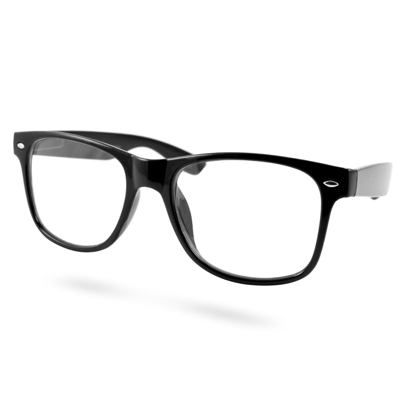 c6759ed0c EverShade Malé čierne retro okuliare s čírymi šošovkami - Glami.sk