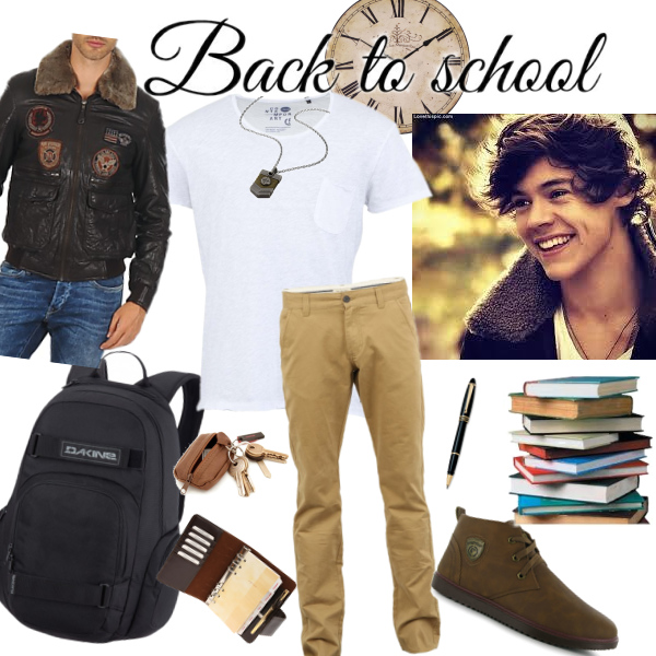Back to school - Man