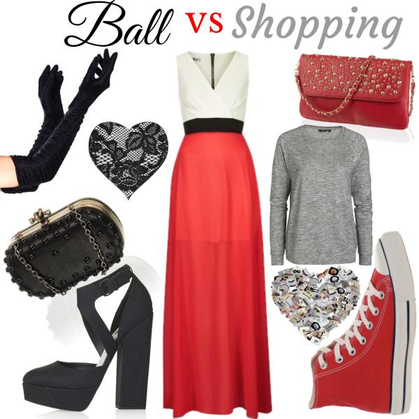Ball vs shopping