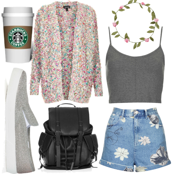 Back to school-bohemian look outfit