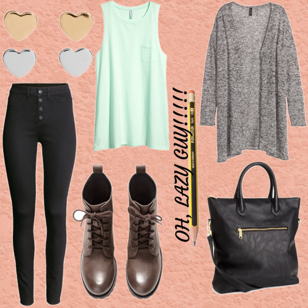 Back to school- lazy day outfit - Glami.cz