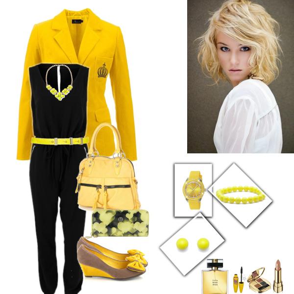 Žluto - černá kombinace :)