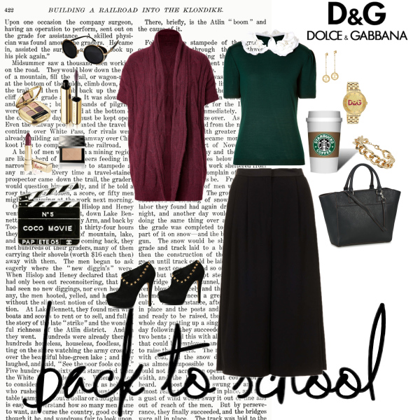 D&G - back to school