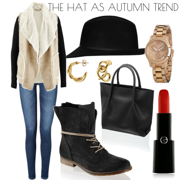 Hat as a autumn trend..