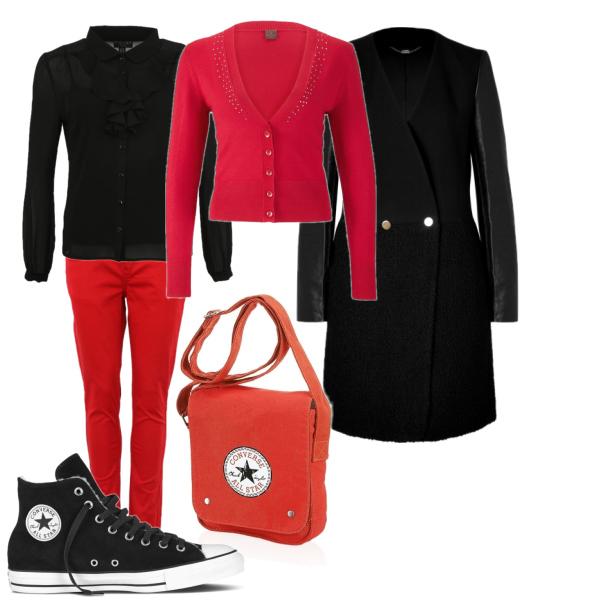 Černo-červená