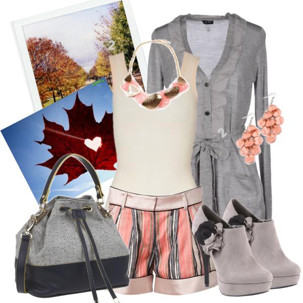 podzim v šortkách