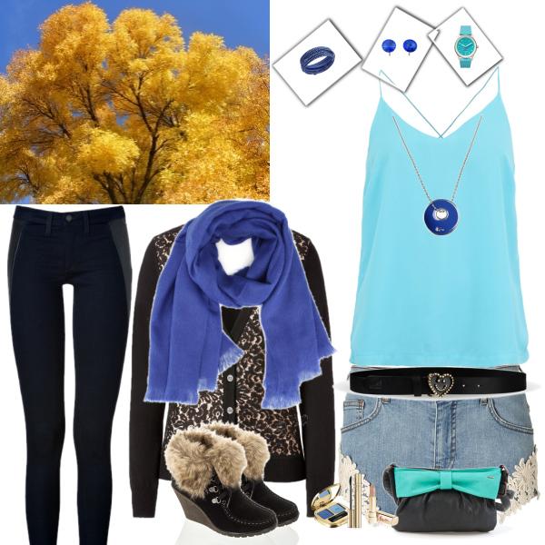 Boží šortky na podzim :)