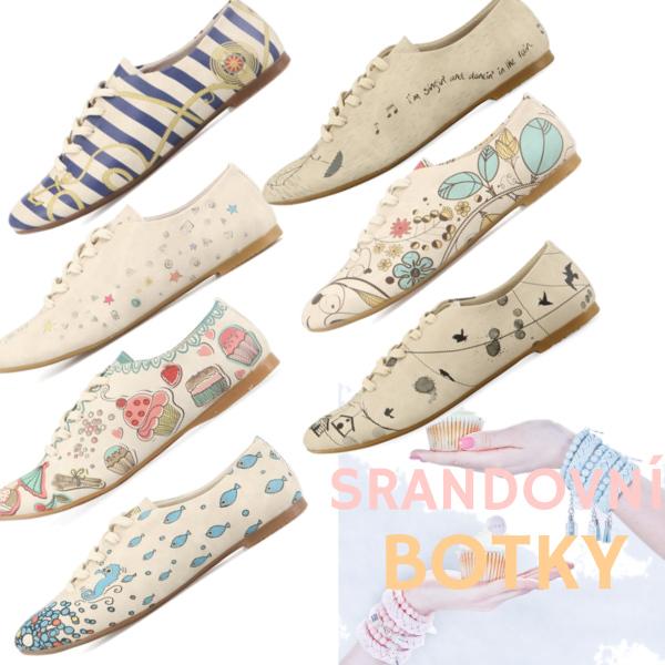 srandovní boty