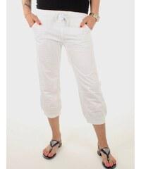 Pepe Jeans dámské bílé 7 8 kalhoty Malibus 1b95ce011e