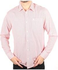 Bílá lněná pánská košile Pepe Jeans PRESTI - Glami.cz 22fc763838