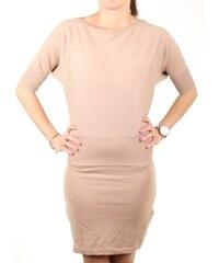 Guess MARCIANO dámské krémové pletené šaty 7032a48980a