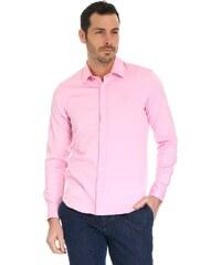 c7b4f50f5b0 Růžová košile s dlouhým rukávem Original Penguin Oxford - Glami.cz
