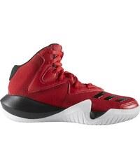 adidas Performance Dětské Basketbalové boty adidas Crazy Team K  SCARLE CBLACK FTWWHT 45e5722b79