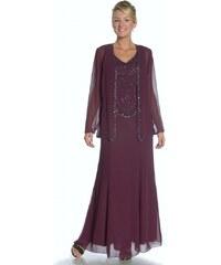 Glamor Okouzlující dlouhé šaty s kabátkem na svatbu 1c9ff0edb5