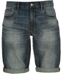 Kraťasy pánské Lee Cooper Regular Denim Shorts Vintage Wash 1ff1a7c60e