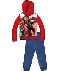 Disney by Arnetta Chlapecká tepláková souprava Captain America - červeno- modrá 79ec1e08c1b