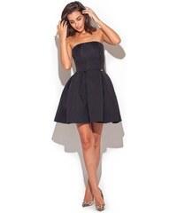 Dámské šaty Katrus K223 černé e495fb3b5e