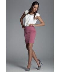 8ec997ed6bb1 Dámská sukně Figl M084 růžová