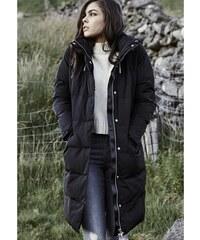 Dámska zimná bunda URBAN CLASSICS LADIES BUBBLE COAT BLACK 1e78447017f