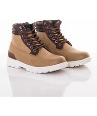 Zimná obuv URBAN CLASSICS WINTER BOOTS BEIGE WOODCAMO f17a3f6d840