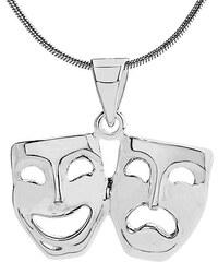 f0d791d83a VESPER stříbrný přívěsek divadelní masky ZTP48678