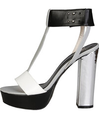 844996b9f63e XTI Čierne sandále 30686 - Glami.sk