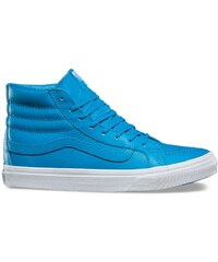 Vans SK8-Hi Slim (Neon Leather) neon blue true white 0a3cc43dd2