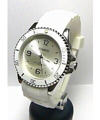 Luxusní dámské bílé vodotěsné ocelové hodinky Foibos 3857 8e6c8a6d72d