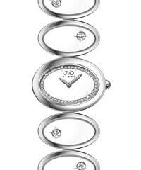 Šperkové luxusní keramické ocelové dámské náramkové hodinky JVD steel W21.1 03cc49e9a4