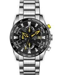 Luxusní vodotěsné sportovní hodinky JVD seaplane W51.2 chornograf se  stopkami 3a5ea676547