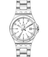 Pánské elegantní náramkové hodinky JVD steel W57.1 s datumovkou 0f03c87421a