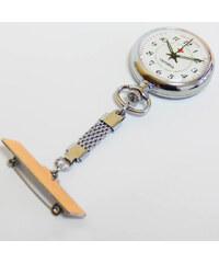 Luxusní stříbrné kapesní hodinky Olympia 50239 čitelné na závěsu 9f2747b0b2b