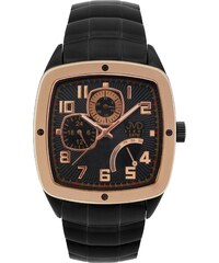 JVD Pánské vodoodolené hranaté exkluzivní náramkové hodinky J1021.1 - 5ATM  POŠTOVNÉ ZDARMA! 6481174b1f0