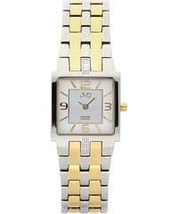 Dámské luxusní hodinky JVD steel J4034.3 s diamanty a safírovým sklem 9224d679f25