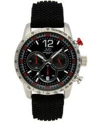 bb1ef7e8353 Pánské černé vodotěsné sportovní hodinky JVD chronograph J1102.2 - 10ATM