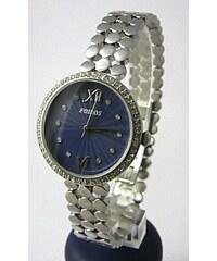 Dámské šperkové ocelové hodinky Foibos 3a39 s modro-fialovým číselníkem a  zirkon 52aff0b3e1b