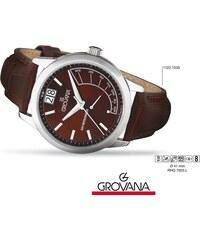 4dde28fc64f Luxusní retro švýcarské značkové hodinky Grovana RETROGRADE 1722.1535
