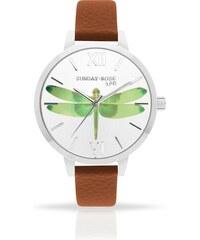 e6a2c4785b4 JVD Dámské luxusní designové hodinky SUNDAY ROSE Alive FLY