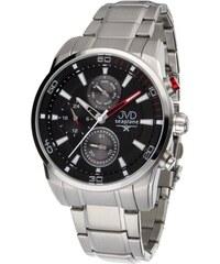 b246165f79d Pánské luxusní vodotěsné chronografy hodinky JVD seaplane W82.1 - 10ATM