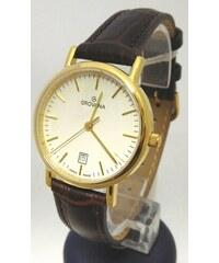 db270209aec Dámské luxusní švýcarské hodinky Grovana 3229.1513 na koženém pásku