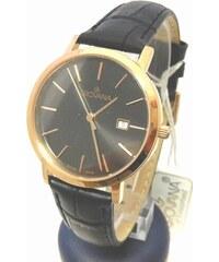 Dámské luxusní švýcarské zlacené hodinky Grovana 3230.1967 na koženém pásku 8d48fae99b